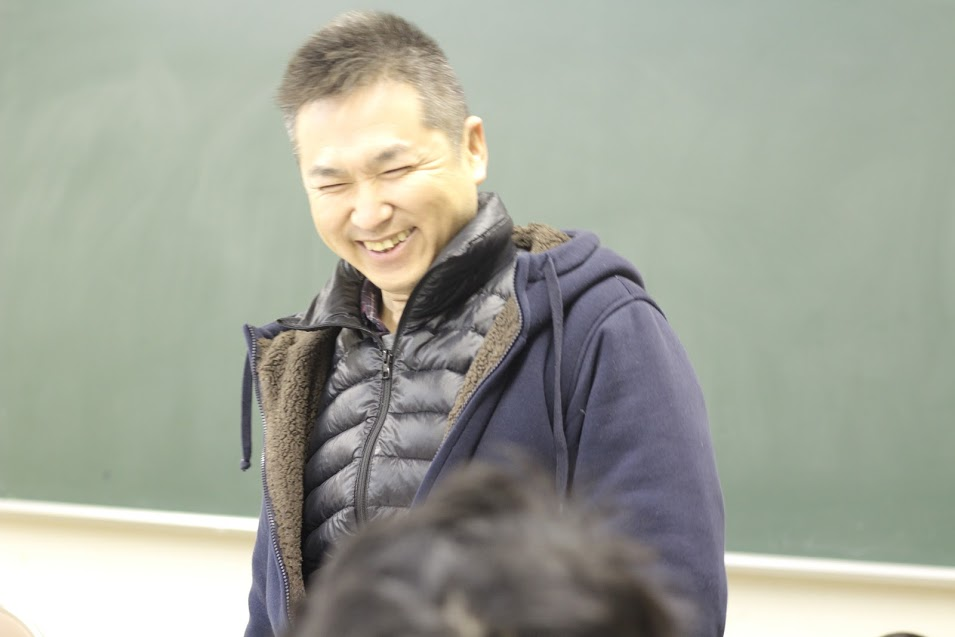 佐野さんの笑顔