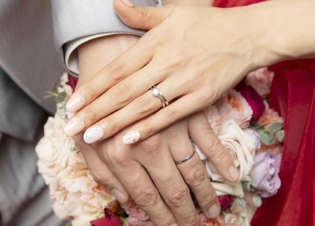 夢追う女性:結婚したシーン